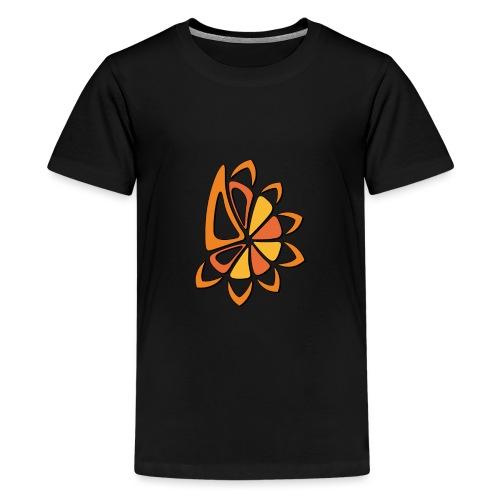 spicchi di sole caldo multicolore - Maglietta Premium per ragazzi