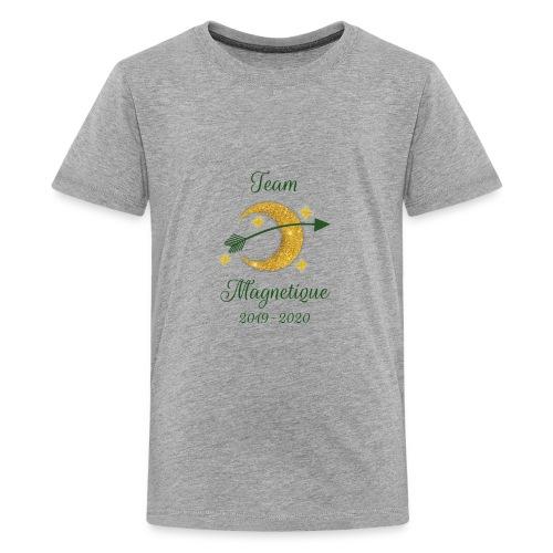 Team Magnetique 2019 2020 - Teinien premium t-paita