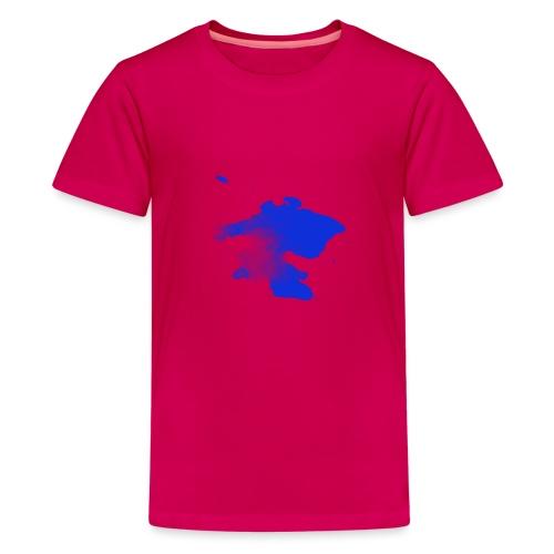 ink splatter - Teenage Premium T-Shirt