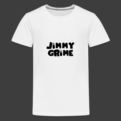 Jimmy Grime White Family Guy Shirt - Camiseta premium adolescente