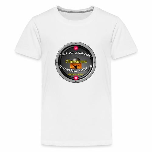 Breizh-Animation - T-shirt Premium Ado
