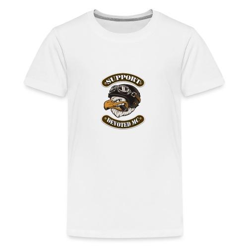T-Shirt DEVOTEDMC SUPPORTSHOP10003 - Premium T-skjorte for tenåringer