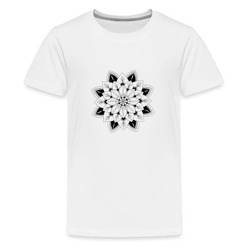 Mandala interior - Camiseta premium adolescente