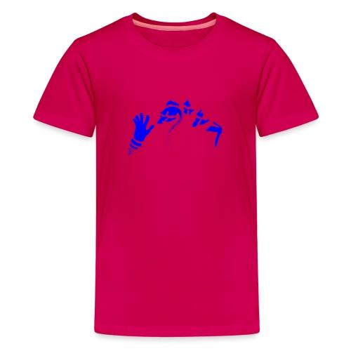 Stop (Vio) - Teenage Premium T-Shirt