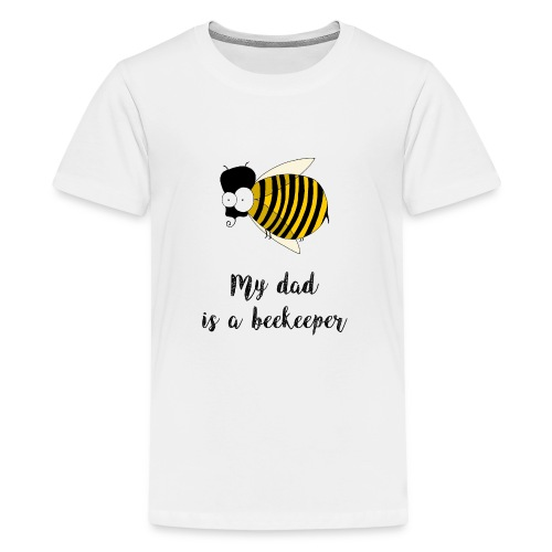 Mio padre è un apicoltore - Maglietta Premium per ragazzi