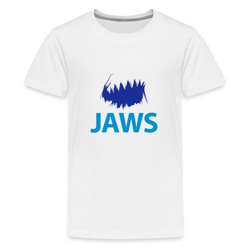 Jaws Dangerous T-Shirt - Teenage Premium T-Shirt