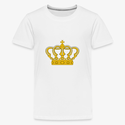 Crown Cross - Teenager Premium T-Shirt