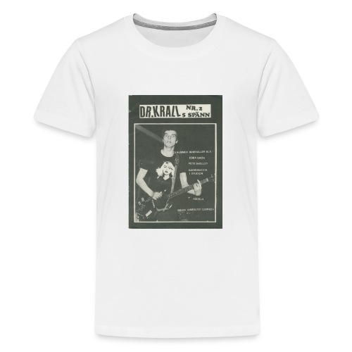 Svart Dr Krall - Premium-T-shirt tonåring