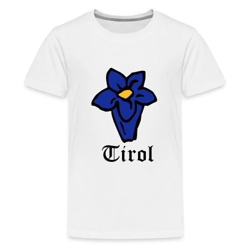 Tirol Enzian - Teenager Premium T-Shirt