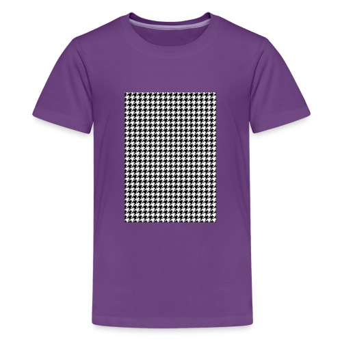 pied de poule v12 final01 - Teenager Premium T-shirt