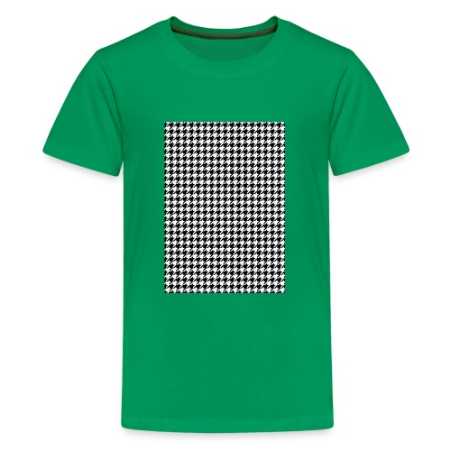 pied de poule v12 final01 - Teenager Premium T-shirt