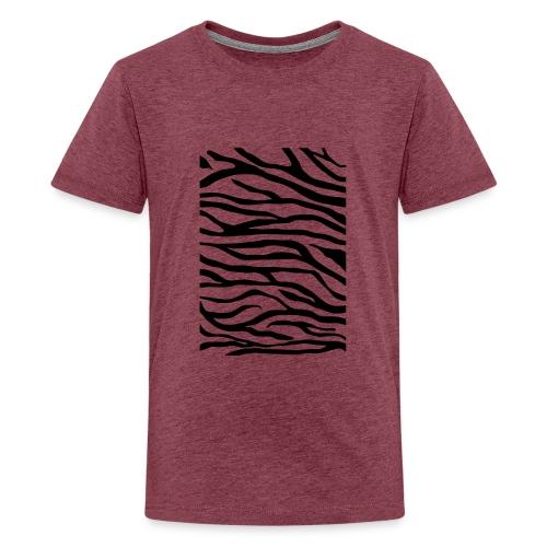 zebra v6 - Teenager Premium T-shirt