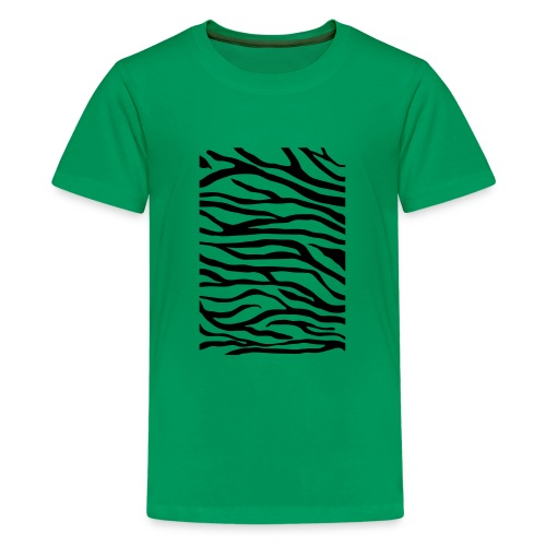 zebra v6 - Teenager Premium T-shirt