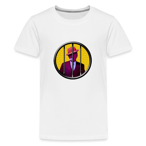 egonolsen cirkel - Teenager premium T-shirt