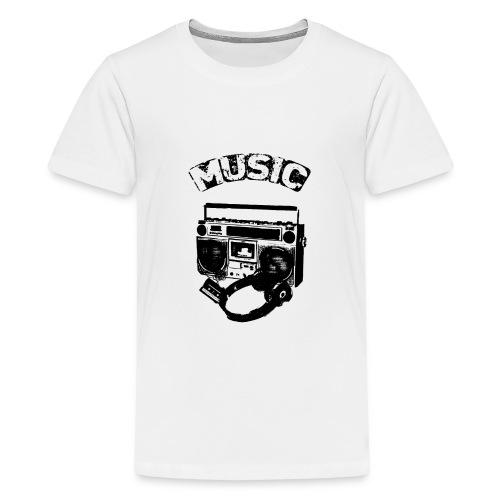 musik1 - Teenager premium T-shirt