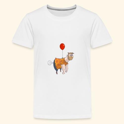 Ballon man - Teenager Premium T-shirt
