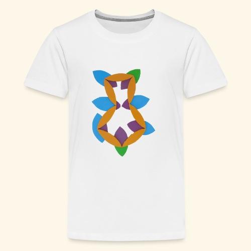 oranjeblanjebleu - Teenager Premium T-shirt