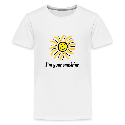 2i m youre sunshine Gelb Top - Teenager Premium T-Shirt