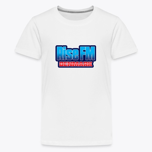 Rise FM Denmark Text Only Logo - Teenager premium T-shirt