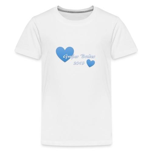 Großer Bruder 2019 - Teenager Premium T-Shirt