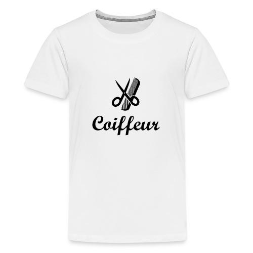 Coiffure / Coiffeur / Coiffeuse / Mode / Cheveux - T-shirt Premium Ado