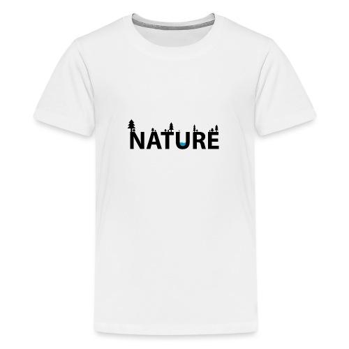Nature - Premium-T-shirt tonåring