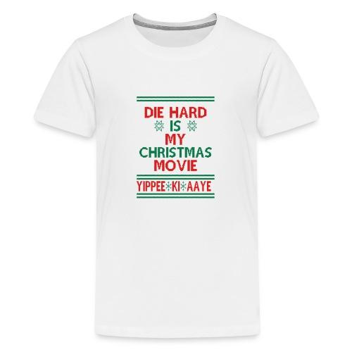 Die Hard Its Not Christmas - Teinien premium t-paita
