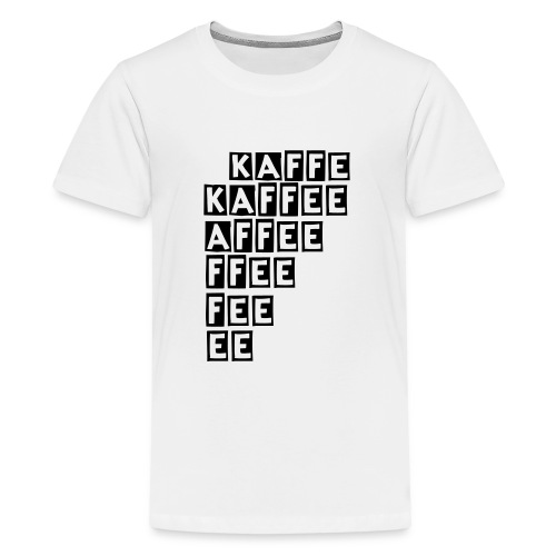 Kaffee - Teenager Premium T-Shirt