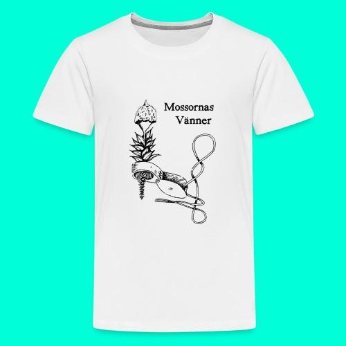 mossvanner - Premium-T-shirt tonåring