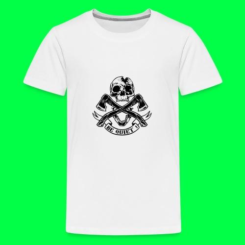BE QUIET - T-shirt Premium Ado