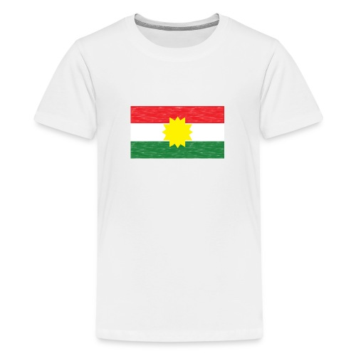 Kurdistan Flagge - Teenager Premium T-Shirt