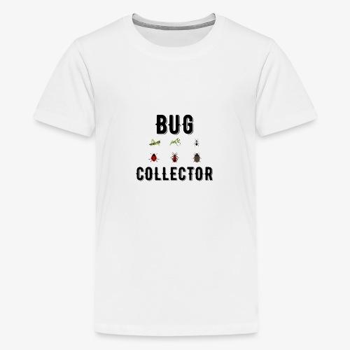 Illustrated Design For Bug Collectors - Teenage Premium T-Shirt