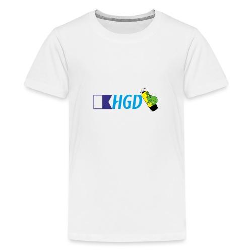 Homme grenouilles de Divonne Banière - T-shirt Premium Ado
