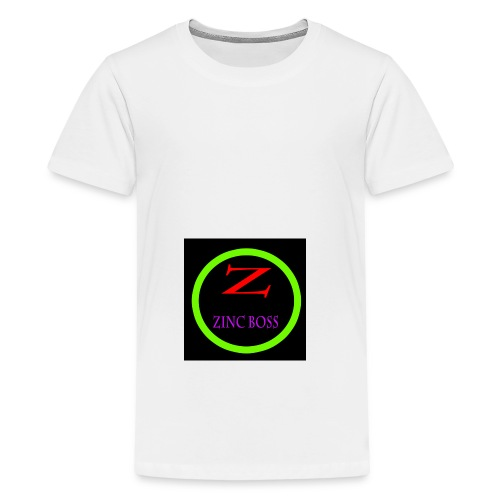 ZiNc Profile template 2 png - Teenage Premium T-Shirt
