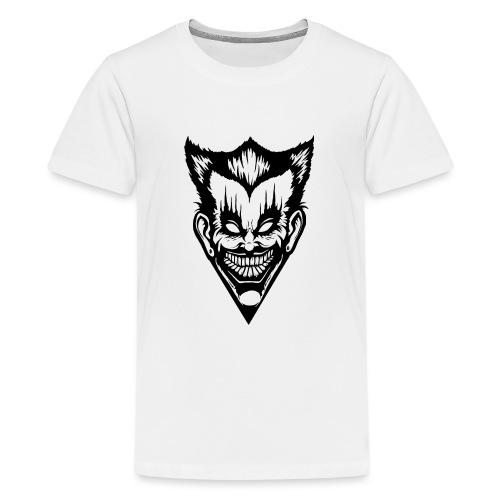 Horror Face - Teenager Premium T-Shirt