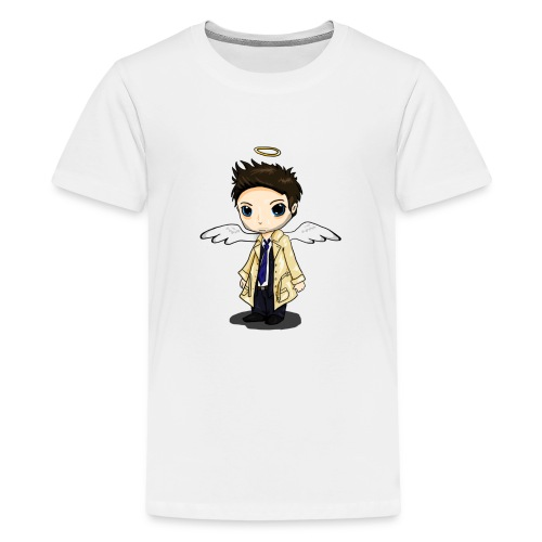 Team Castiel (dark) - Teenage Premium T-Shirt