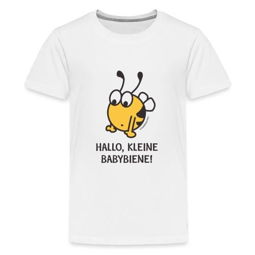 Hallo, kleine Babybiene! - Teenager Premium T-Shirt