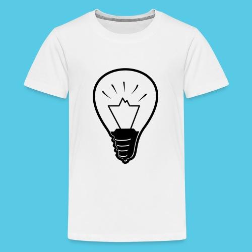 glühende Berge - Teenager Premium T-Shirt