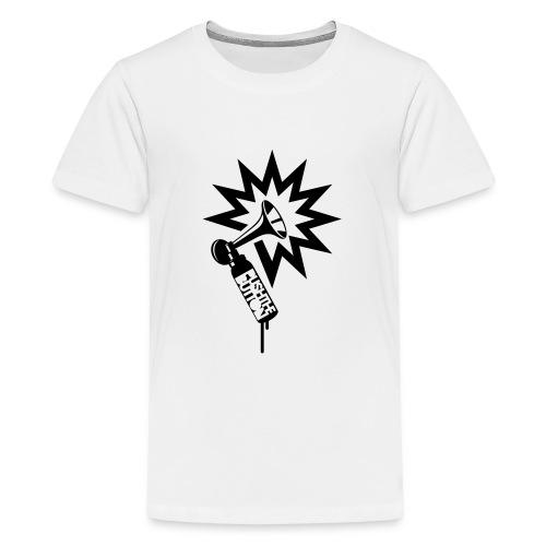 PTB Horn - Teenage Premium T-Shirt