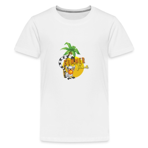 Lemur - Teenager Premium T-Shirt