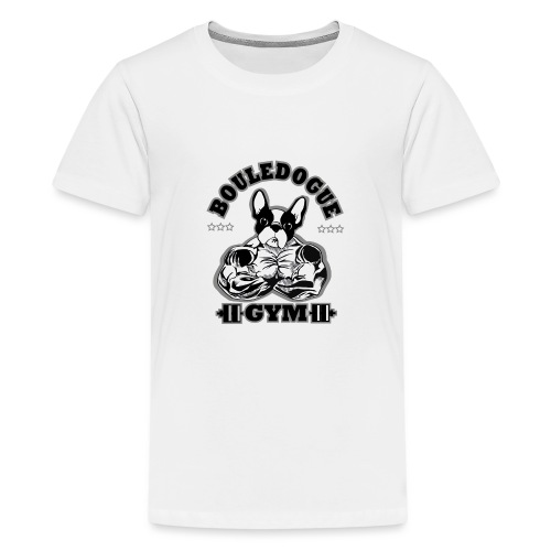 bouledogue gym - T-shirt Premium Ado