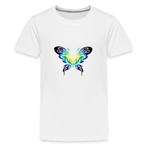 Motyl kolor - Koszulka młodzieżowa Premium