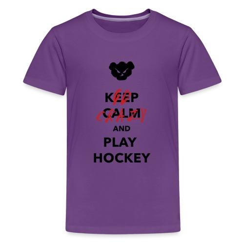 keepcalm png - T-shirt Premium Ado