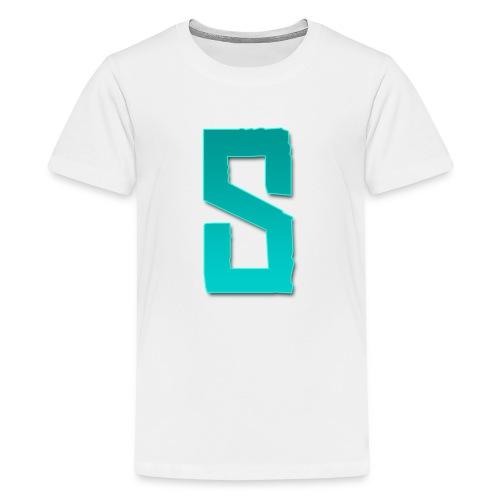 Sibren shirt zwart (Tiener) - Teenage Premium T-Shirt