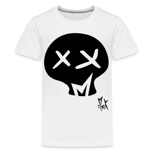 Skull McKoy - Camiseta premium adolescente