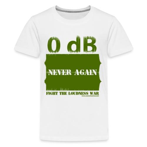 Fight the loudness war - T-shirt Premium Ado