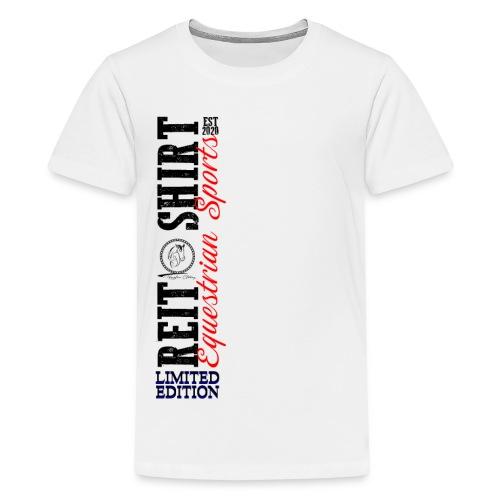 ReitShirt Limited Edition Pferde Reiten - Teenager Premium T-Shirt