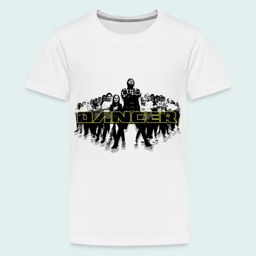 dancer yellow png - Teenager Premium T-Shirt