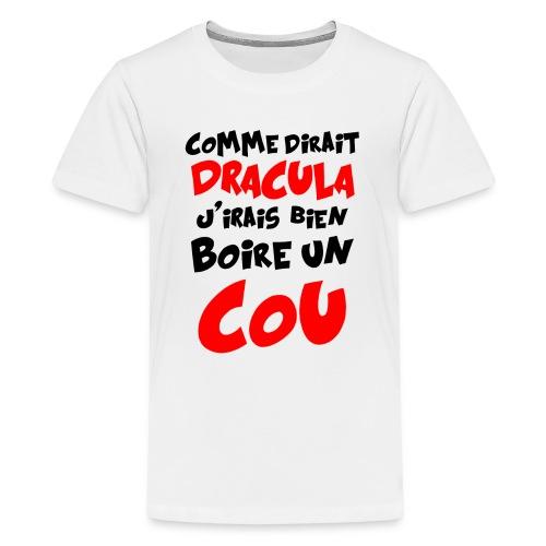 Dracula png - T-shirt Premium Ado