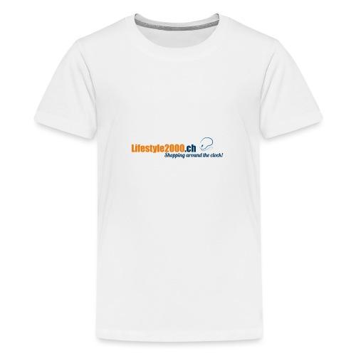 lifestyle 2000 Original Logo - Teenager Premium T-Shirt